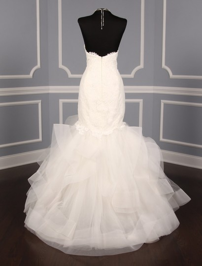 Rivini Ivory Lace Tulle and Horsehair Dolly Formal Wedding Dress Size 16 (XL, Plus 0x) Image 8