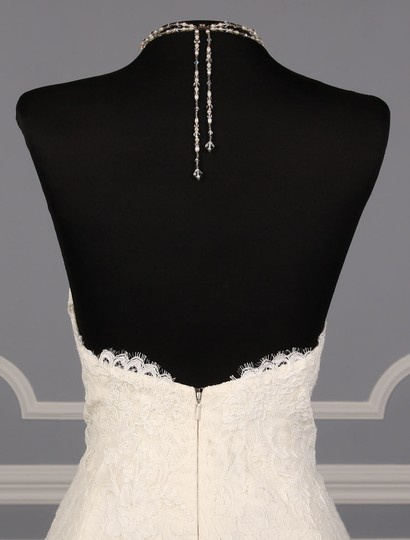 Rivini Ivory Lace Tulle and Horsehair Dolly Formal Wedding Dress Size 16 (XL, Plus 0x) Image 9