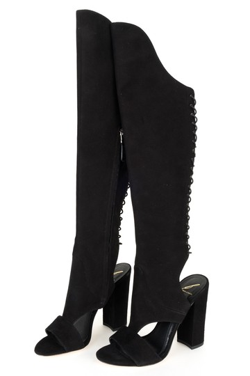 B Brian Atwood black Boots Image 2
