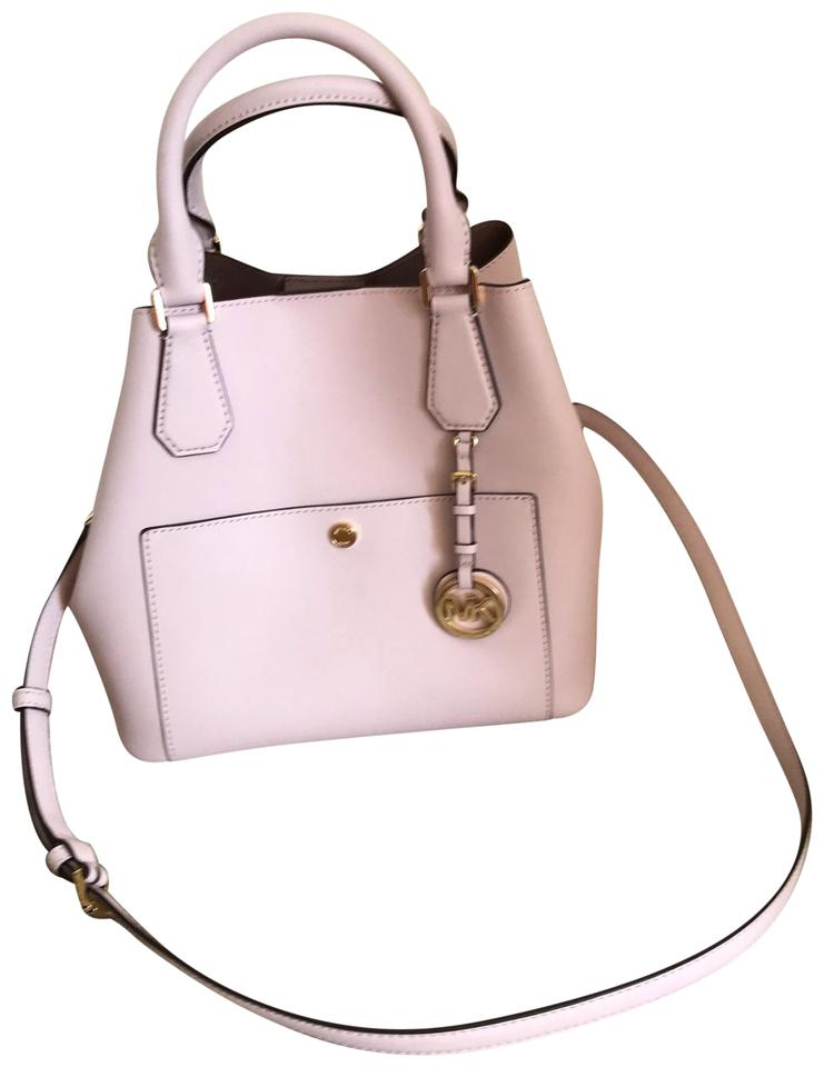 872973bc54b3 Michael Kors Greenwich Tote Bag ' ' Large Pink Saffiano Leather Satchel