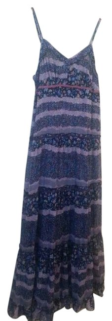 Multi colors Maxi Dress by Patrons of Peace