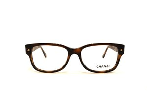 Chanel NEW CH 3135 - New Square w/ Brown Quilted Sides - FAST SHIPPING!