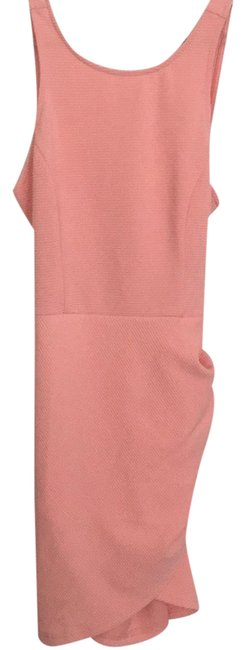 SheIn Pink Cross Back Short Cocktail Dress Size 4 (S) Image 0