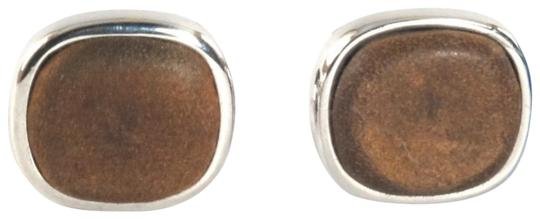 Preload https://img-static.tradesy.com/item/22905224/david-yurman-brown-mens-cufflinks-leather-925-sterling-silver-0-1-540-540.jpg