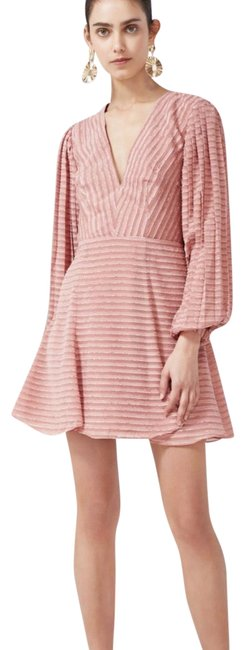 Preload https://img-static.tradesy.com/item/22905259/keepsake-the-label-pink-waterfall-long-sleeve-short-night-out-dress-size-4-s-0-1-650-650.jpg