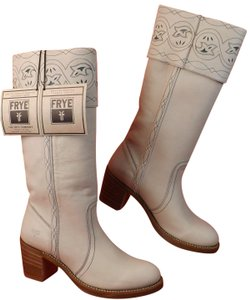 Frye White Boots