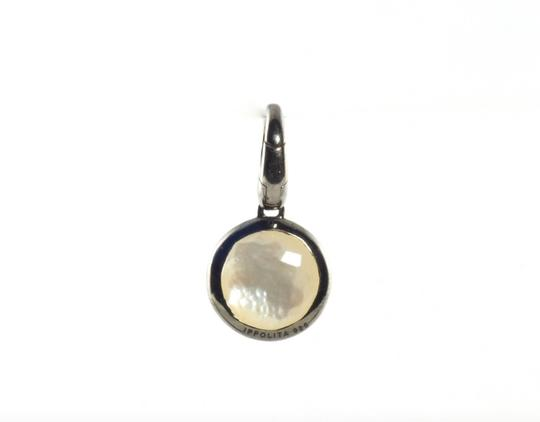 Ippolita IPPOLITA BLACK STERLING SILVER MOTHER OF PEARL & DIAMOND LOLLIPOP CHAR