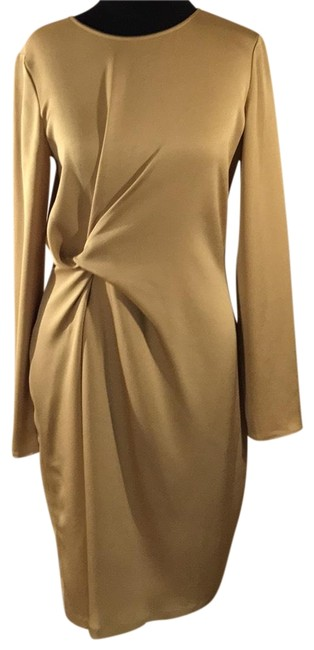 Preload https://img-static.tradesy.com/item/22905405/ann-taylor-olive-color-136543-mid-length-cocktail-dress-size-4-s-0-1-650-650.jpg
