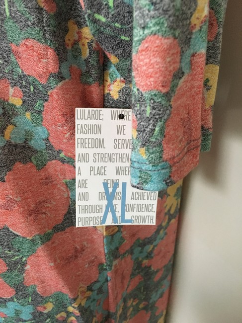 multi Maxi Dress by LuLaRoe Fitted Muticolor Floral
