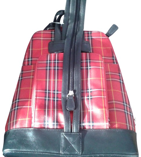 Preload https://img-static.tradesy.com/item/22905425/crazy-horse-by-liz-claiborne-sbru1331-red-plaid-with-black-pvc-trim-polyester-withpvc-hobo-bag-0-1-540-540.jpg