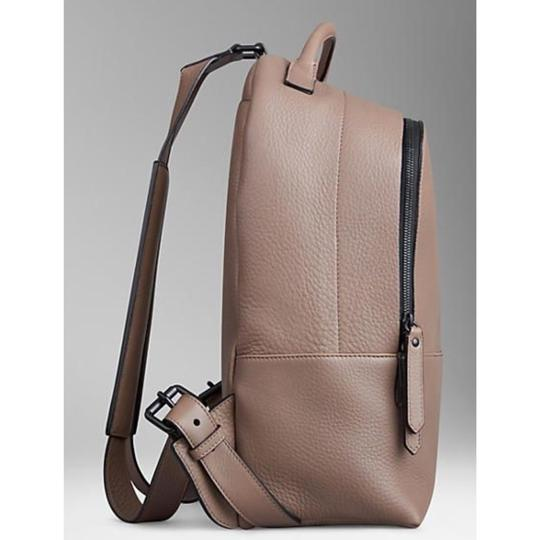 Burberry Travel Work Leather Backpack