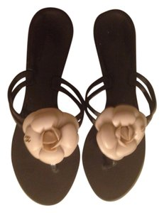Chanel Ivory Sandals
