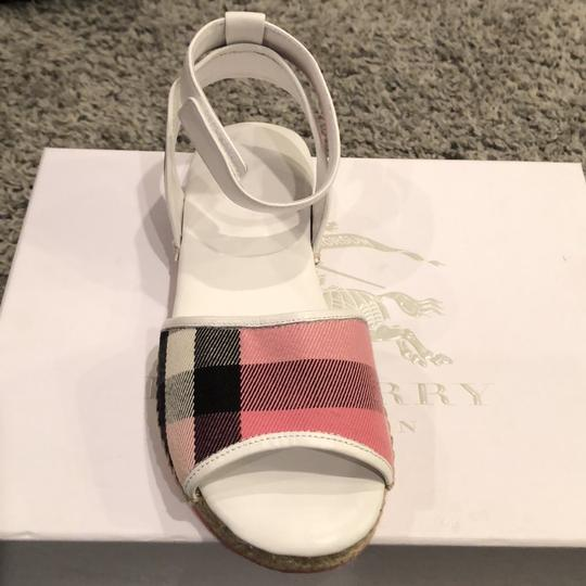 Burberry Rose Pink Sandals