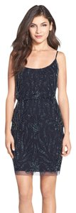 Adrianna Papell Beaded Floral Dress