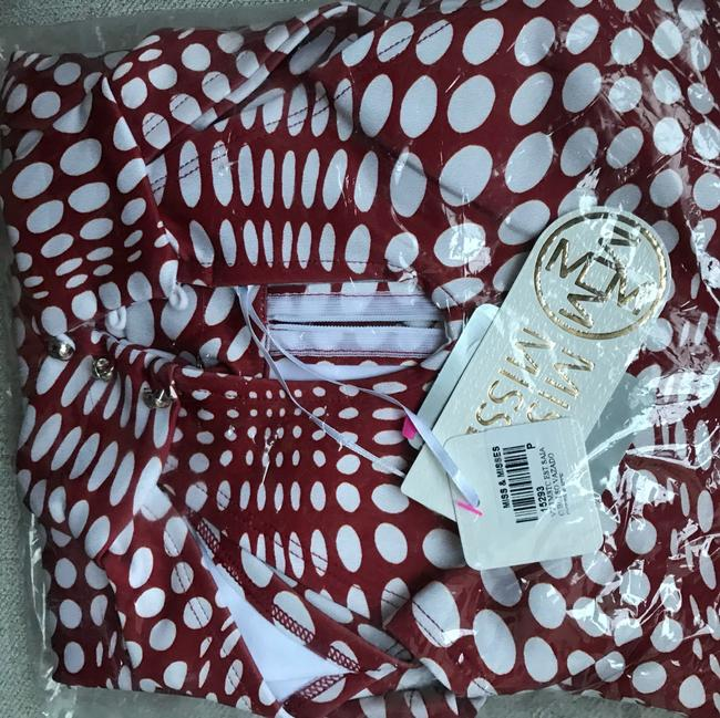 Miss&misses short dress red and white on Tradesy