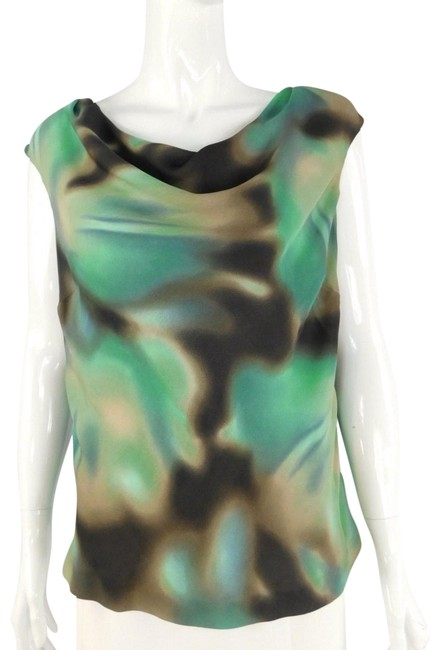 Preload https://img-static.tradesy.com/item/22905628/classiques-entier-green-gradient-silk-sleeveless-blouse-size-8-m-0-1-650-650.jpg