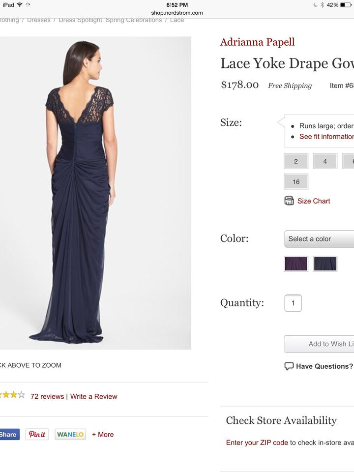 of papell luxury drapes the bride online navy aubergine mother stix a yoke gown women china p beaded adrianna santa clara drape motherofthebride dresses designer lace line