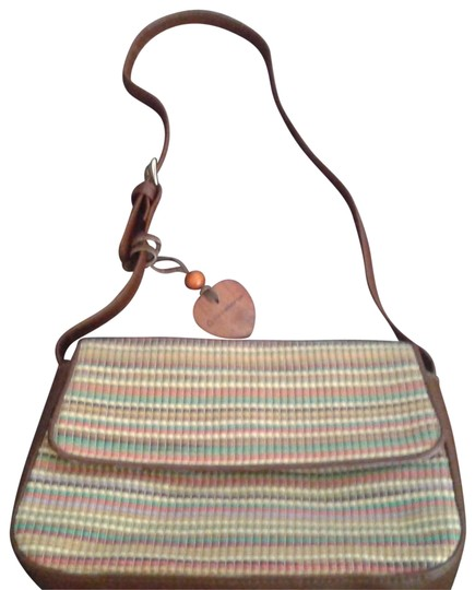 Preload https://img-static.tradesy.com/item/22905741/liz-claiborne-rn-70272ca-18396-multicolor-with-brown-pvc-trim-55-cotton-45-olefin-satchel-0-1-540-540.jpg