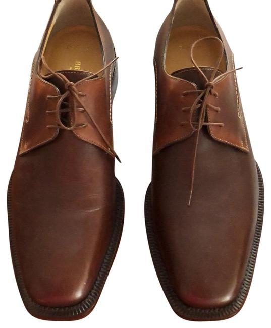 Bruno Magli Brown Oxford Flats Size US 11.5 Regular (M, B) Bruno Magli Brown Oxford Flats Size US 11.5 Regular (M, B) Image 1
