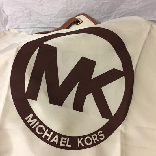 Michael Kors Satchel in brown/beige/blue