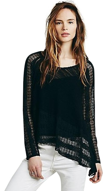 Free People Carousel New Without Tags Black Top