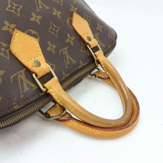 Louis Vuitton Alma Lv Satchel in Monogram Image 4