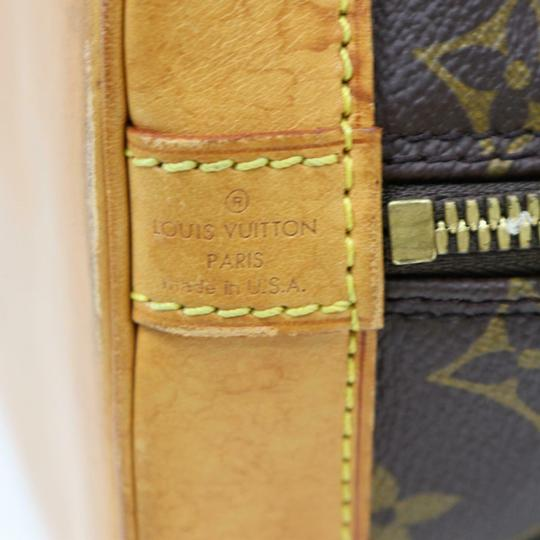 Louis Vuitton Alma Lv Satchel in Monogram Image 5