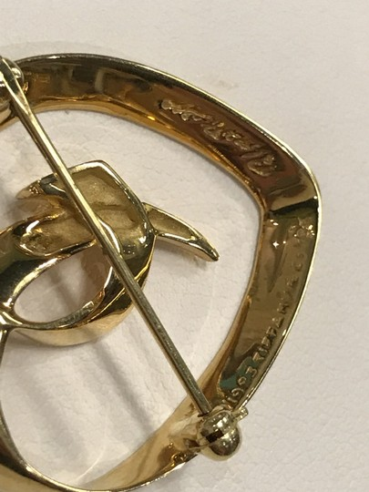 Tiffany & Co. Tiffany and Co. Solid 18k Gold Paloma Picasso Heart Love Brooch Pin