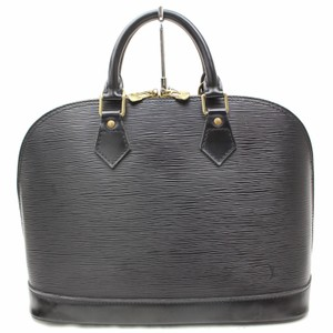 Louis Vuitton Epi Alma Alma Vernis Alma Speedy Epi Speedy Satchel in Black