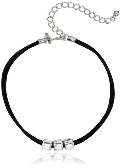 Preload https://img-static.tradesy.com/item/22906219/kenneth-jay-lane-black-silver-choker-with-3-crystal-rhondelles-choker-lady-12-necklace-0-0-540-540.jpg