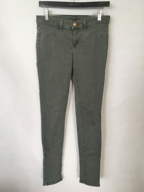 J Brand Legging Pencil Leg Zipper Detail Skinny Jeans