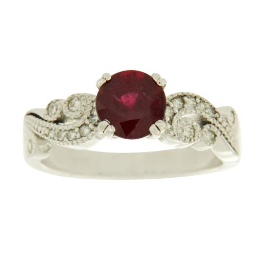 Preload https://img-static.tradesy.com/item/22906263/163-ct-ruby-and-026-ct-diamonds-in-14k-white-gold-engagment-ring-0-0-540-540.jpg