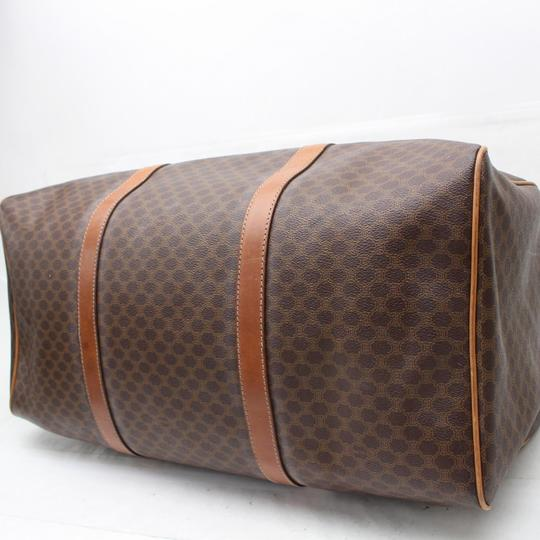 Céline Keepall Duffle Boston Brown Travel Bag