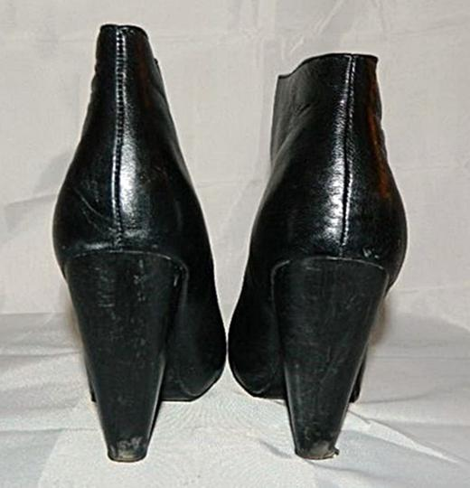 Chinese Laundry Ankle Wicked Hidden Platform Cone Shape Heels Black Boots