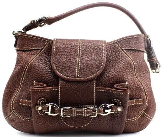 Preload https://img-static.tradesy.com/item/22906480/dolce-and-gabbana-miss-buckle-pebble-brown-leather-hobo-bag-0-1-540-540.jpg