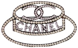 Chanel CHANEL - NEW 2017 - HAT PIN CC LOGO BROOCH - 17B - XL CRYSTAL RHINESTO