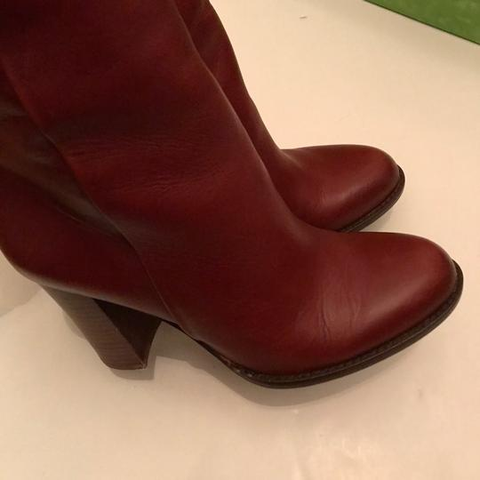 Sam Edelman red Boots