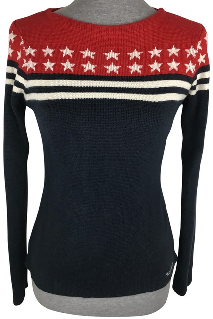 Preload https://img-static.tradesy.com/item/22906628/polo-ralph-lauren-navy-blue-red-white-jeans-co-american-flag-sweaterpullover-size-4-s-0-1-650-650.jpg
