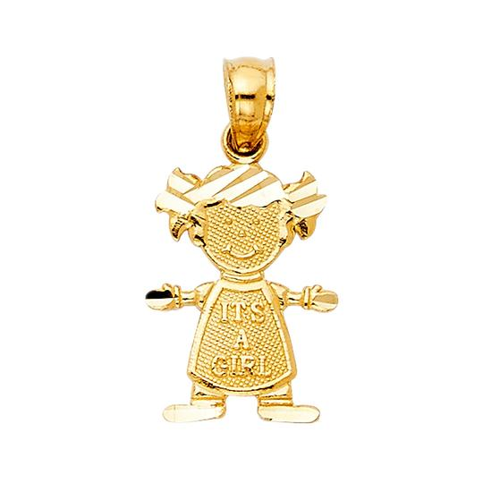 Preload https://img-static.tradesy.com/item/22906630/yellow-14k-girl-pendant-charm-0-0-540-540.jpg