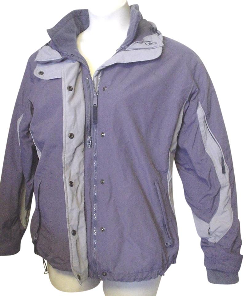 Columbia Sportswear Company Blue Gray L Bugaloo Removable Liner Ski Jacket  Winter Cold Ec Activewear Size 12 (L) 56% off retail
