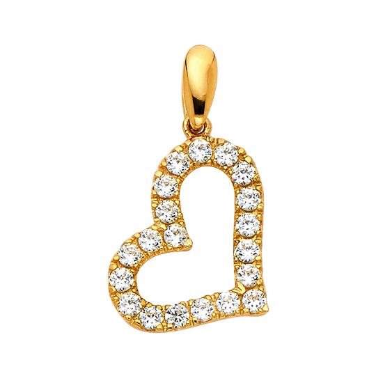Preload https://img-static.tradesy.com/item/22906685/yellow-14k-heart-pendant-charm-0-0-540-540.jpg