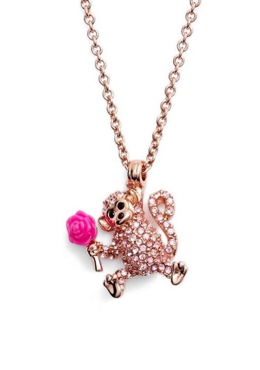 Preload https://img-static.tradesy.com/item/22906700/kate-spade-rose-goldpink-12k-plated-rambling-money-pendant-necklace-0-0-540-540.jpg