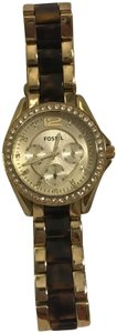 Fossil Fossil Gold/Tortoise Watch