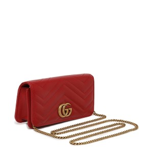 Gucci Gg Marmont Marmont Double G Marmont Chain Marmont Quilted Cross Body Bag