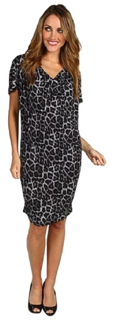Preload https://img-static.tradesy.com/item/22906912/michael-michael-kors-gray-and-black-leopard-print-drape-neck-mid-length-workoffice-dress-size-2-xs-0-1-650-650.jpg