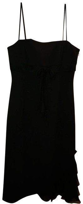 Preload https://img-static.tradesy.com/item/22906920/bcbgmaxazria-black-strapless-silk-chiffon-trim-mid-length-cocktail-dress-size-6-s-0-1-650-650.jpg