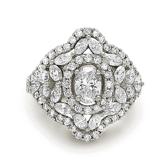 Preload https://img-static.tradesy.com/item/22906996/white-gold-14k-oval-shape-cocktail-diamond-with-marquise-cut-ring-0-0-540-540.jpg