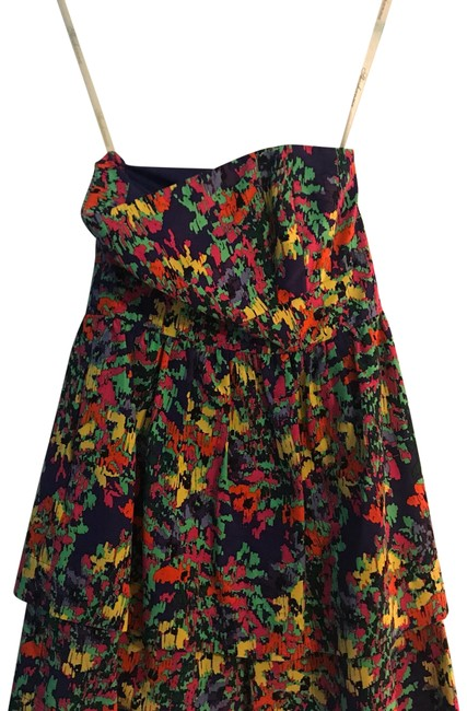 Preload https://img-static.tradesy.com/item/22907150/shoshanna-multi-colored-floral-mini-short-casual-dress-size-0-xs-0-1-650-650.jpg