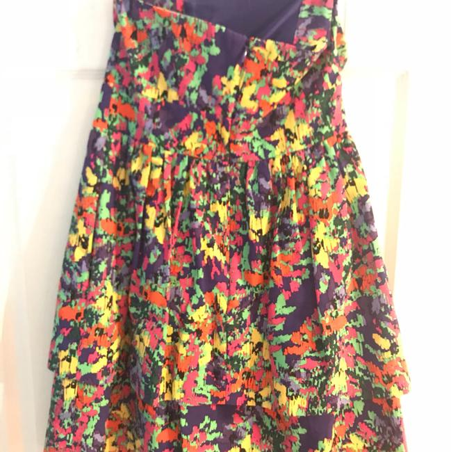 Shoshanna short dress Multi colored on Tradesy