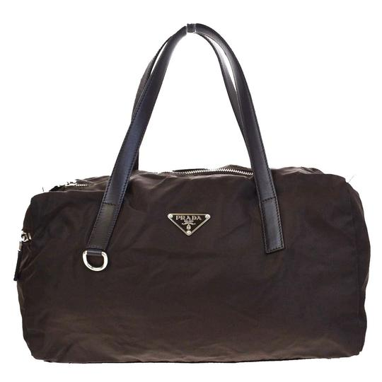 Preload https://img-static.tradesy.com/item/22907224/prada-milano-logos-shoulder-italy-02v412-brown-nylon-leather-weekendtravel-bag-0-0-540-540.jpg